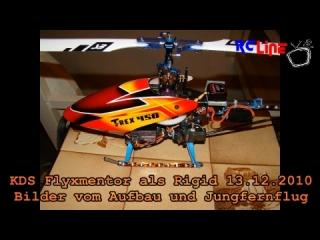 AFTER >: KDS Flymentor Rigid Erstflug 13.12.2010