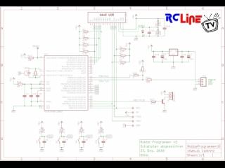 Robbe Programmer V2 No.8642 Schaltplan (Eagle)