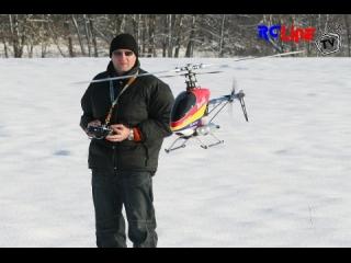 Winterfliegen mit dem T-Rex 600