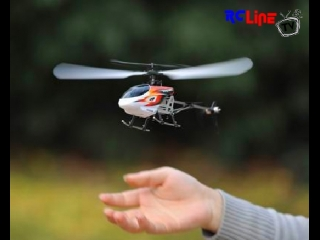 Hubsan Palm size 4CH Invader -2.4Ghz RC system-Single Rotor System