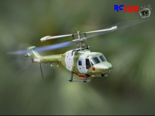 HUBSAN 4CH Westland Lynx helicopter(Single Rotor)