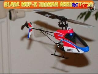 Blade MCP-X 700mAh Akku und Heckausleger Mod