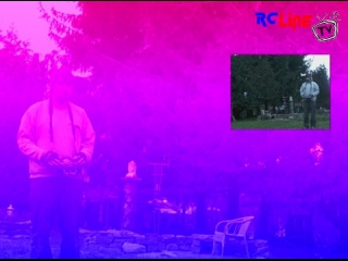 Blade mcP X mit kurzem Keycam-Test im Garten