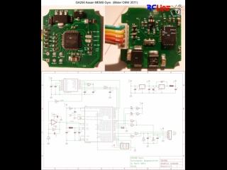 Gyro GA250: Innensicht und Schaltplan