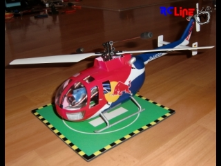 Bo 105 red bull single rotor 2