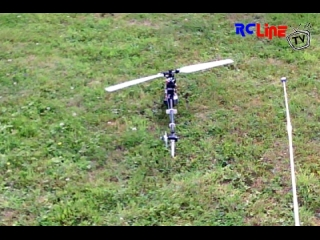 Funcopter mit HC3d Rigid. Test 1