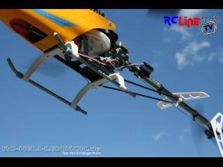 Rex 450 Ueberflug