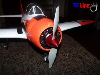 T-28 mit Alu-Spinner 1