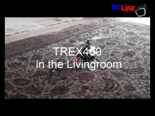 Trex 450 in the Livingroom
