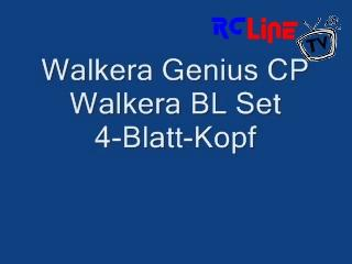 AFTER >: Walkera Genius CP mit 4-Blatt Rotor