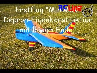 "AFTER >: Erstflug ""MiniMax"""