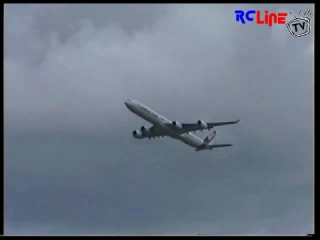 A 340-600 High angle, low pass