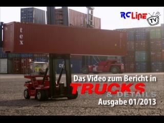 TRUCKS & Details: Kalmar Containerstapler im Eigenbau