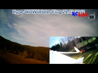 Hype-WOW letzter Flug 29.12.2012 from 12-30-2012 11:23:35 Uploaded by satsepp