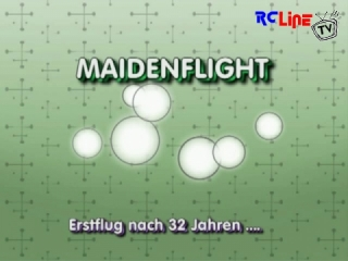 < DAVOR: Graupner E-Trainer 140  Maidenflight