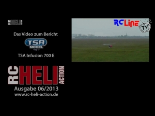 RC-Heli-Action: TSA Infusion 700 von freakware from 05-06-2013 08:49:28 Uploaded by rcheliaction