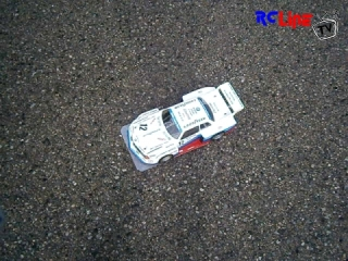 RC-Retro Car 1/8 Testfahrt Part 1