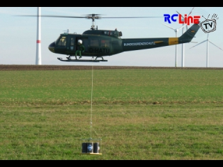 AFTER >: Bell UH-1D mit Aussenlast