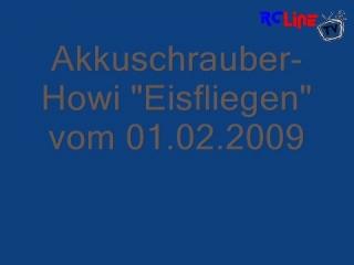 """Akkuschrauber-Howi """"Eisfliegen"""""""