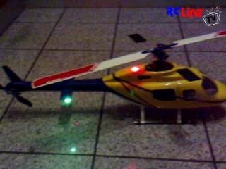 Jet Ranger Beleuchtung