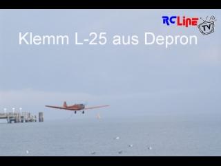 Klemm L-25 aus Depron