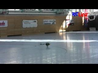 Indoorgaudi 2009 - Er�ffungsflug Alex Bauch