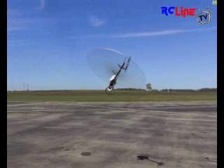 Reflex XTR Testflug 02.03.09