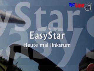 Onboard Sommerflug mit dem Easystar